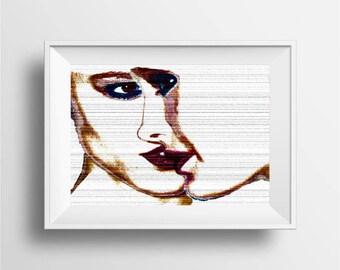 Pop Art print, Modern Pop Art
