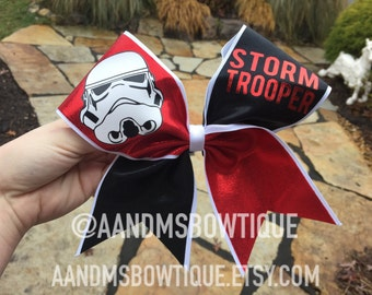 Stormtrooper Cheer Bow