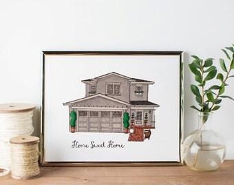 Original House Portrait
