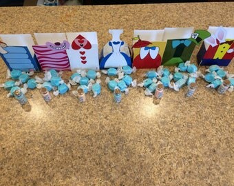 Alice Character Treat Boxes