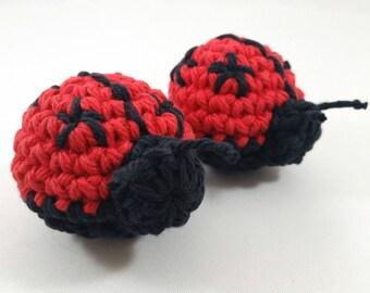 Ladybug catnip cat toys