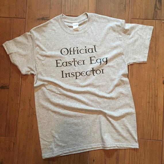 Official Easter Egg Inspector - Unisex Tshirt