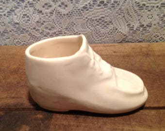 Nelson McCoy Baby Shoe Planter
