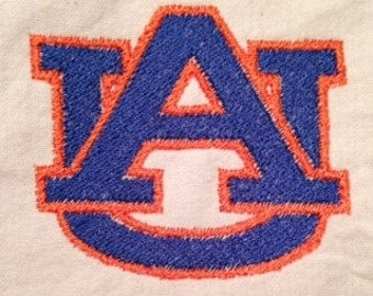 Auburn University Logo Machine Embroidery Design