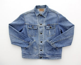Vintage Jean Jacket // Rifle Men's Denim Jacket