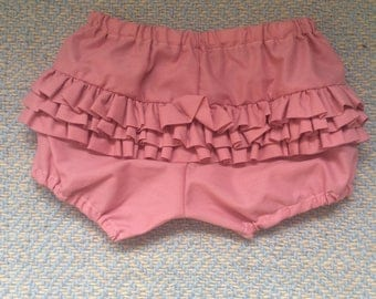 2t rose vintage-inspired ruffle bloomers