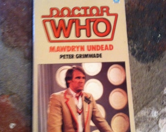 Vintage Target Book Doctor Who Mawdryn Undead Peter Grimwade Book