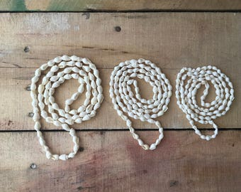Three Bohemian Shell Necklaces