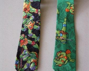 Children's Ninja Turtle Neckties