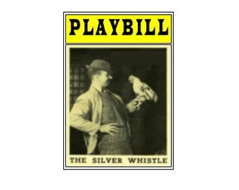 Theater / Show Charm - Playbill  Play Bill - The Silver Whistle