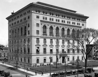 Detroit Athletic Club, Detroit, Michigan, Old Photo Repro, 1912, Early 1900's