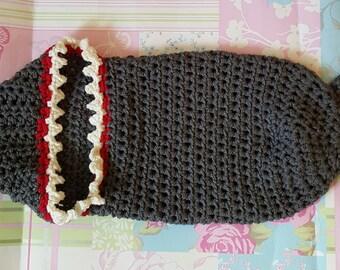 Shark Tale Cocoon Crochet Pattern Free : Shark blanket Etsy