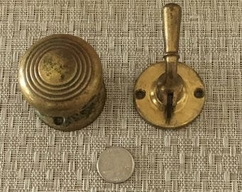 Vintage Door Knob & Latch Wallhangers