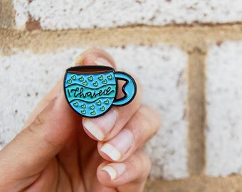 Tea pun pin | Chai Tea| Enamel pin | Tea Gift| Tea Pin | Tea cup pin | Tea Thoughts