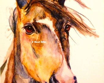 Horse Giclee Print Limited Edition of 20