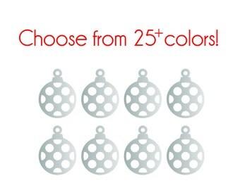 Ornament Decals - Vinyl, Custom choice of color