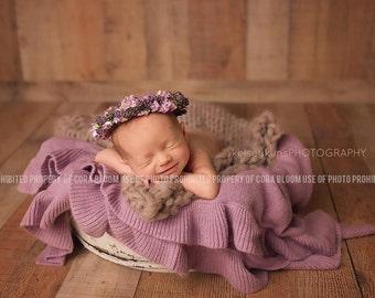 Flower Halo, Newborn Halos, Flower Headband, Flower Halo Headband, Spring Halo, Spring Halo Headband, Newborn Headband, Baby Headband
