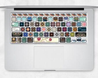 MacBook Keyborad Skin Decal - Mac Air Pro DIY Keyboard Sticker
