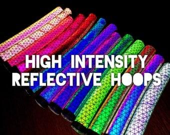 High Intensity, * Extreme Brightness, Custom Reflective * Polypro or HDPE Hoop