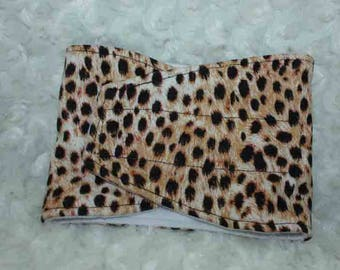 Male Dog Diapers / Belly band / dog wrap / Waterproof / LEOPARD print