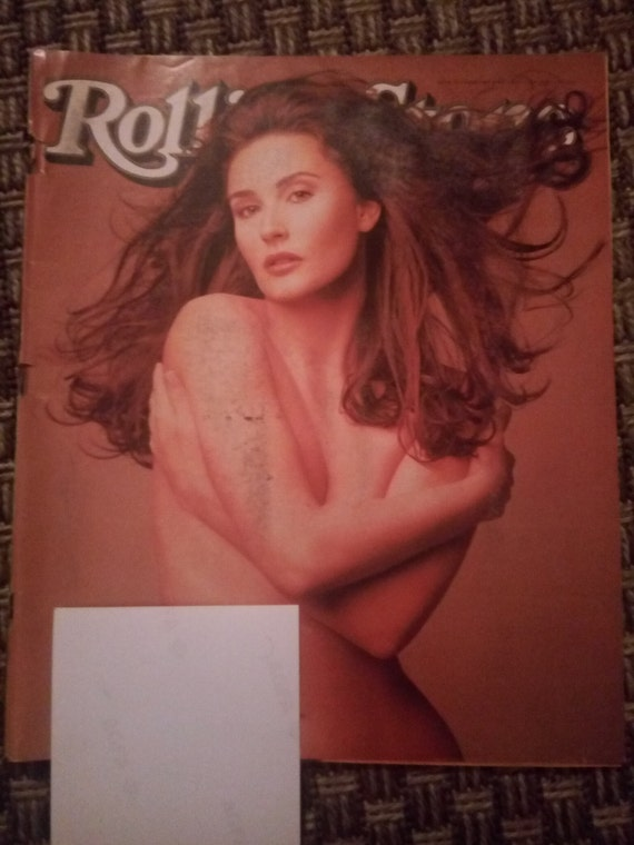 Rolling Stone magazine issue 701 February 9, 1995 Demi Moore