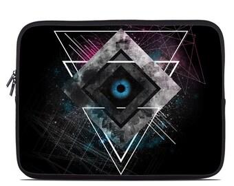 Laptop Sleeve Bag Case - Luna by FP - Neoprene Padded - Fits MacBooks + More
