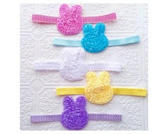 The Shabby Bunny Headband or Hair Clip- Choose One