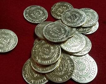 10 Besants/Fatimid Dinars of the Latin Kingdom of Jerusalem