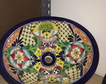 Free Shipping - Beautiful Talavera Sink