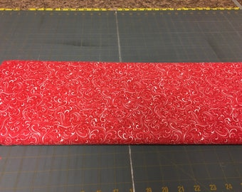 no. 499 Red breezeway Fabric by the yard