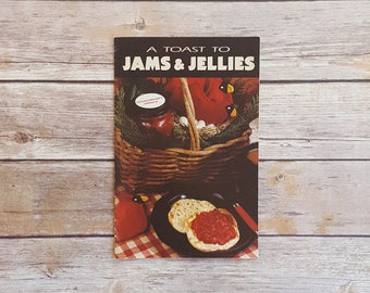 Apple Butter Recipes Orange Curd A Toast To Jam and Jellies 1990s Cookbook Jam Recipes Country Cooking Style Book Retro 90s Kitchen Decor