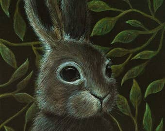 Rabbit Archival Art Print