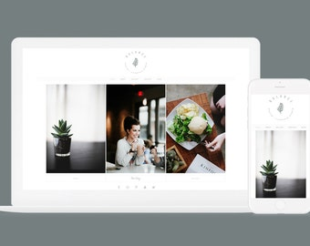 Minimal Wordpress Theme Balance - Wordpress Blog Theme - Genesis Child Theme - Responsive Design