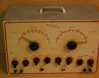 Vintage Heath kit TV Calibration Meter, vintage tv meter,vintage electronics, vintage industrial meter, vintage electronics meter,test meter