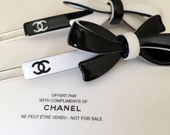 Chanel Vip gift hair clips