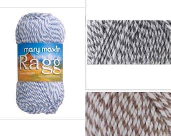 20% off - Mary Maxim Starlette Ragg Acrylic Yarn