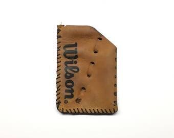 Repurposed Wilson Baseball Glove Wallet