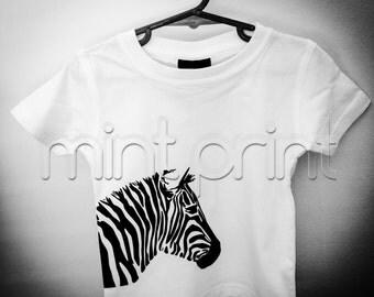 Zebra Baby Tshirt
