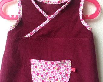 Tunic, dress, corduroy, Gr. 86