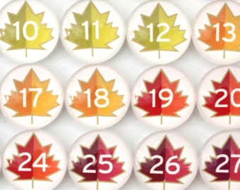 Number Magnets -  Autumn!