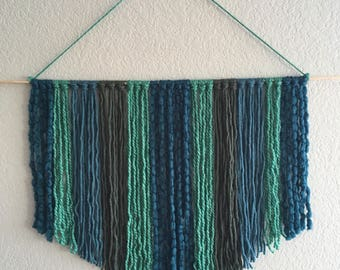 Boho Mermaid Wool Yarn Wall Hanging Tapestry