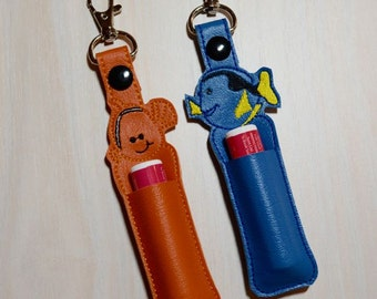 Lip Balm, Chapstick, Flash Drive, USB Drive Holder - Nemo, Dory