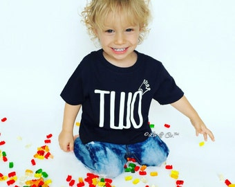 Two Shirt, 2 Year Old Birthday Shirt, Two Year Old Shirt, 2nd Birthday Shirt, Boy Birthday Shirt, Second Birthday Shirt, Bday, ©Liv & Co.™