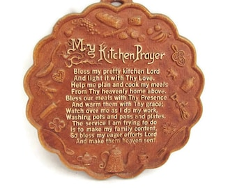 My Kitchen Prayer Etsy