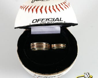 Baseball Ring Box