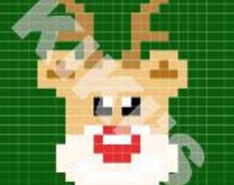 C2C Crochet Rudolph Pattern (*PATTERN ONLY*)
