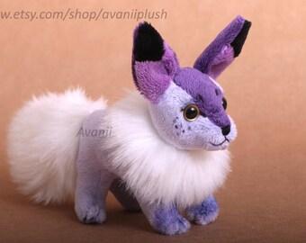 Amethyst Beanie Plush Fox