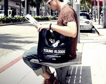 Black Messenger Bag Cross Bag School Bag Crossbody Faux Leather Bag 103
