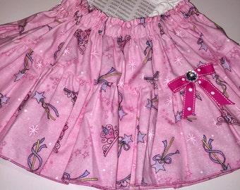 SAMPLE SALE Princess Tiara and Wand Skirt
