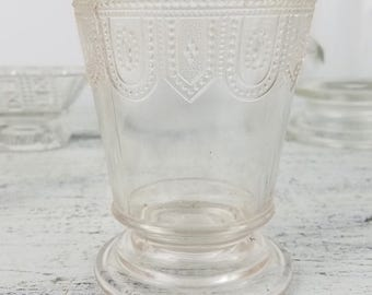 Anchor Hocking Pressed Glass Misc. Set, clear glassware